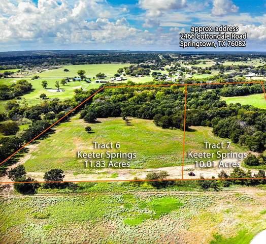 165 Keeter Springs Road, Springtown, TX 76082 (MLS #14286096) :: All Cities Realty