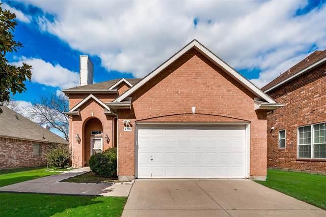 2716 Chatsworth Drive, Grapevine, TX 76051 (MLS #14286119) :: NewHomePrograms.com LLC