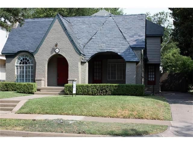 4028 Purdue Avenue, University Park, TX 75225 (MLS #14286201) :: Robbins Real Estate Group
