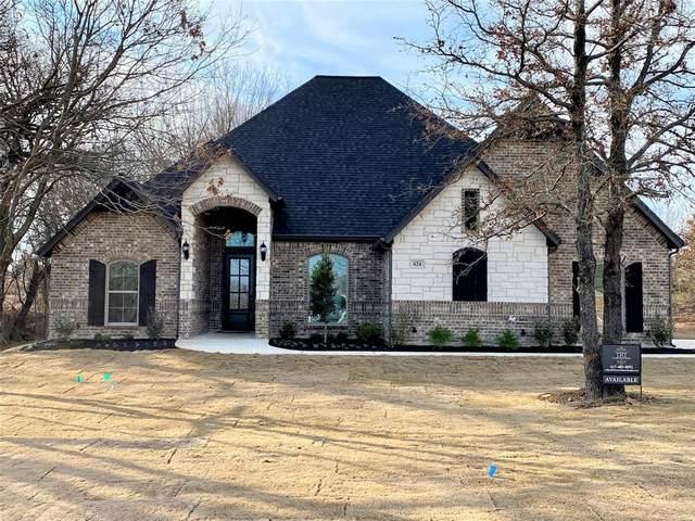 424 Scenic Wood Drive, Reno, TX 76020 (MLS #14286356) :: The Kimberly Davis Group