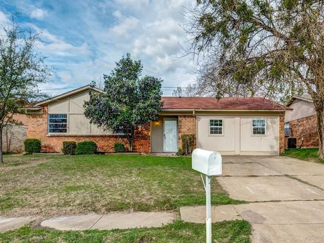 6605 Bernadine Drive, Watauga, TX 76148 (MLS #14286413) :: Hargrove Realty Group