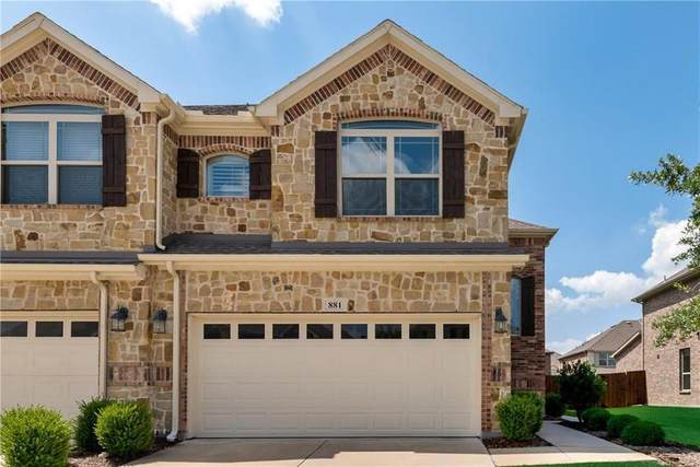 881 Merino Drive, Allen, TX 75013 (MLS #14286444) :: The Rhodes Team