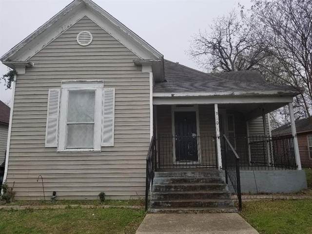 910 E Tucker Street, Fort Worth, TX 76104 (MLS #14286474) :: EXIT Realty Elite