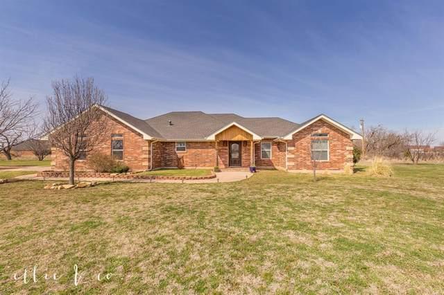 102 Dollar Bill Drive, Abilene, TX 79602 (MLS #14287168) :: Lynn Wilson with Keller Williams DFW/Southlake