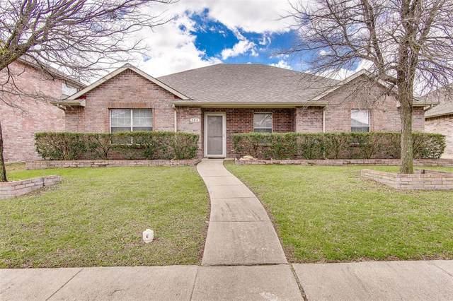 306 Valley Ridge Drive, Red Oak, TX 75154 (MLS #14287176) :: The Rhodes Team