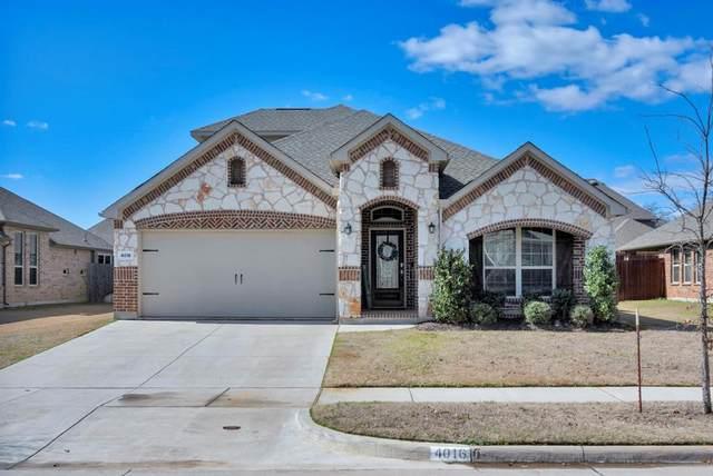 4016 Hialeah Drive, Denton, TX 76210 (MLS #14287543) :: Real Estate By Design