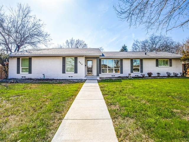 209 Lavista Street, Waxahachie, TX 75165 (MLS #14287566) :: The Chad Smith Team