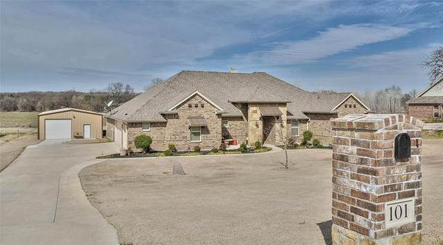 101 Trey Drive, Weatherford, TX 76087 (MLS #14287701) :: The Mitchell Group