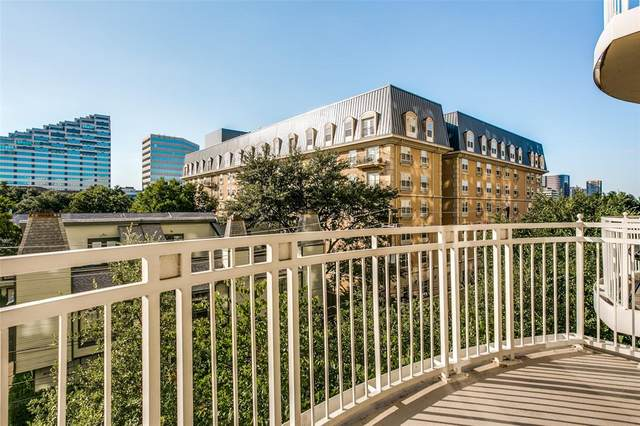 3225 Turtle Creek Boulevard #430, Dallas, TX 75219 (MLS #14287849) :: HergGroup Dallas-Fort Worth