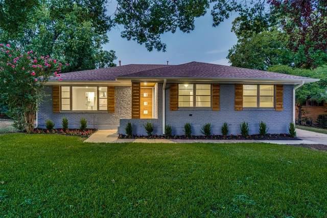 6339 Saratoga Circle, Dallas, TX 75214 (MLS #14287906) :: Team Tiller