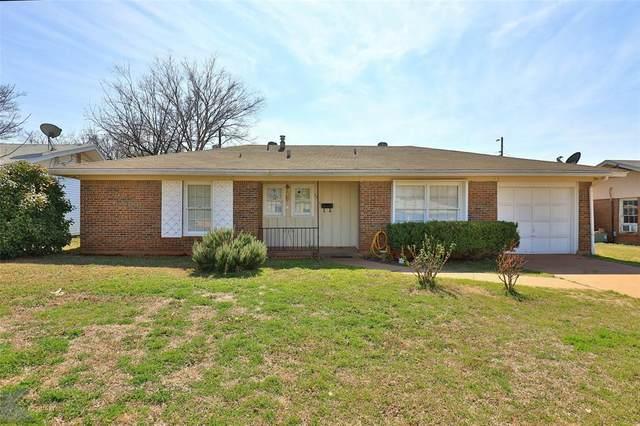 3273 Sandefer Street, Abilene, TX 79603 (MLS #14287956) :: RE/MAX Pinnacle Group REALTORS