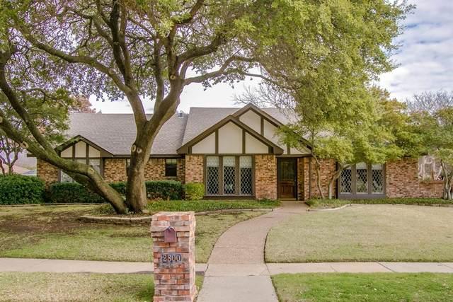 2800 Kyle Drive, Plano, TX 75075 (MLS #14287988) :: Post Oak Realty