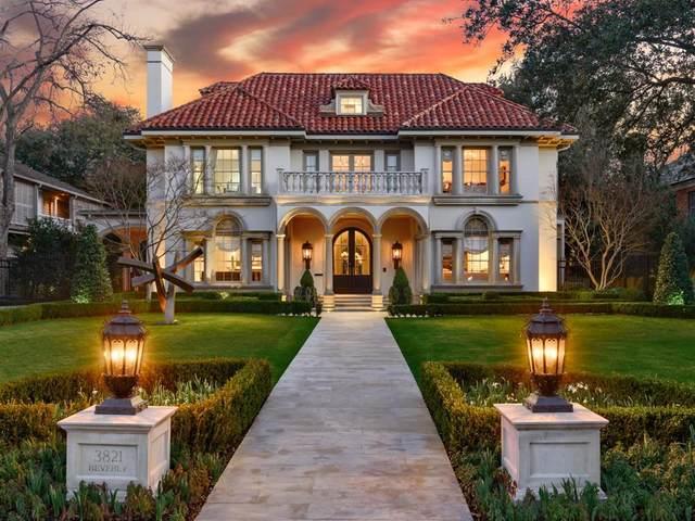 3821 Beverly Drive, Highland Park, TX 75205 (MLS #14288111) :: The Kimberly Davis Group