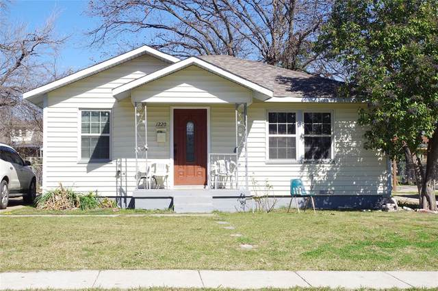 1220 W Boyce Avenue, Fort Worth, TX 76115 (MLS #14288242) :: All Cities Realty