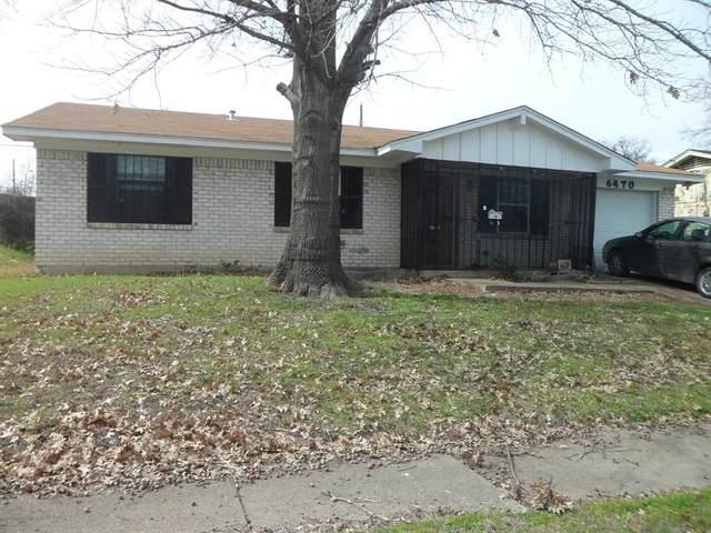 6470 Palm Island Street, Dallas, TX 75241 (MLS #14288274) :: The Heyl Group at Keller Williams