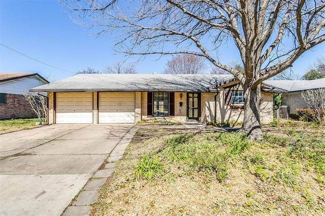 2301 Skylark Drive, Arlington, TX 76010 (MLS #14288379) :: The Mauelshagen Group