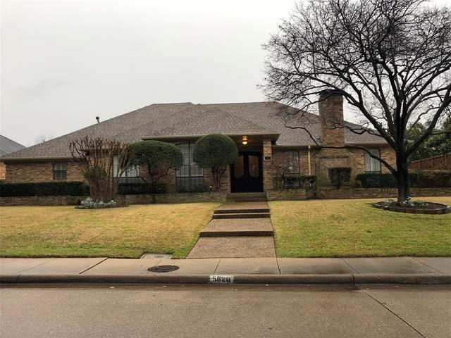 5820 Windmier Lane, Dallas, TX 75252 (MLS #14288550) :: NewHomePrograms.com LLC