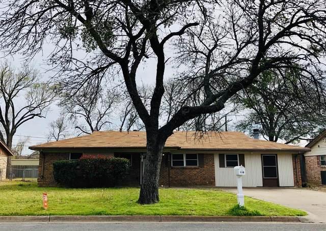 116 Oakhurst Drive, Hurst, TX 76053 (MLS #14288638) :: The Star Team   JP & Associates Realtors