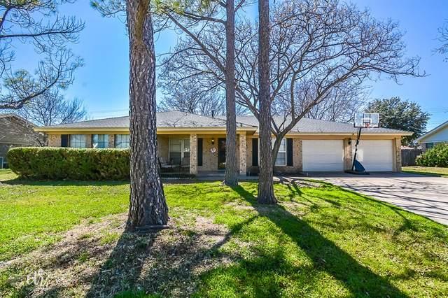2501 Darrell Drive, Abilene, TX 79606 (MLS #14288845) :: Trinity Premier Properties