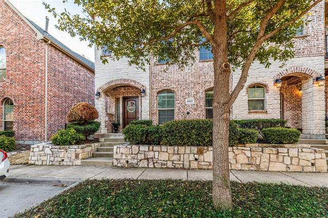 6821 Cortona Lane, Frisco, TX 75034 (MLS #14289306) :: Tenesha Lusk Realty Group