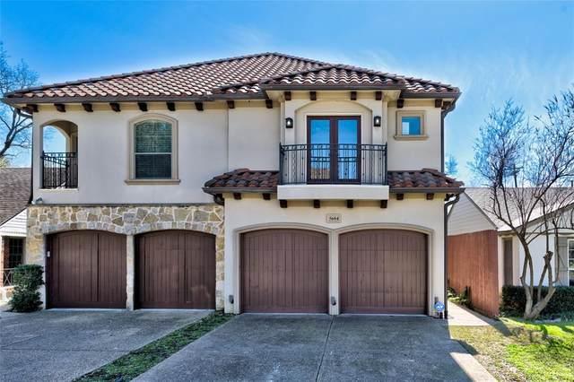 5604 Ellsworth Avenue, Dallas, TX 75206 (MLS #14289323) :: Baldree Home Team