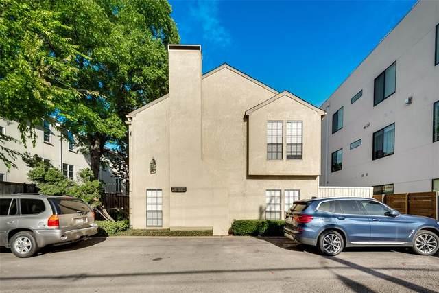 3919 Cole Avenue #102, Dallas, TX 75204 (MLS #14289592) :: RE/MAX Pinnacle Group REALTORS