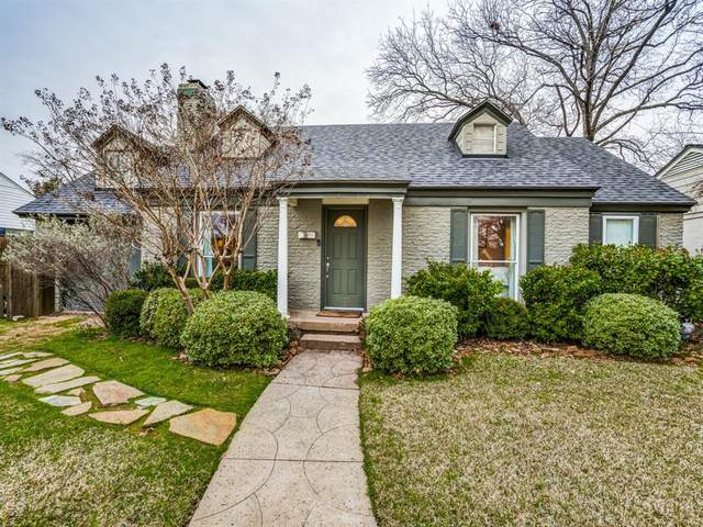 4023 Parkside Drive, Dallas, TX 75209 (MLS #14289679) :: HergGroup Dallas-Fort Worth