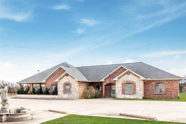 401 Center Court Drive, Bridgeport, TX 76426 (MLS #14289932) :: Team Tiller