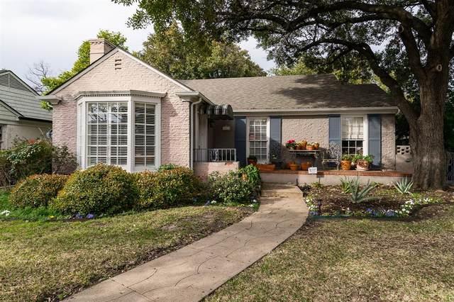 4600 S Versailles Avenue, Highland Park, TX 75209 (MLS #14290131) :: RE/MAX Landmark