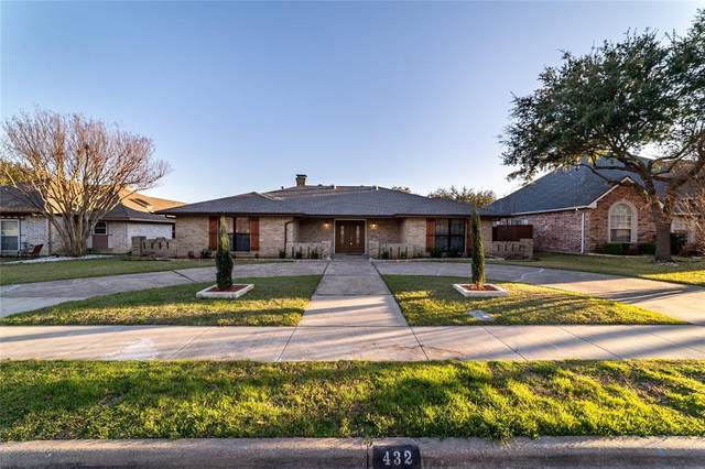 432 Park Bend Drive, Richardson, TX 75081 (MLS #14290359) :: The Mauelshagen Group