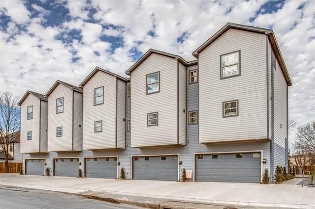 4703 Columbia Avenue #104, Dallas, TX 75226 (MLS #14290421) :: The Mauelshagen Group
