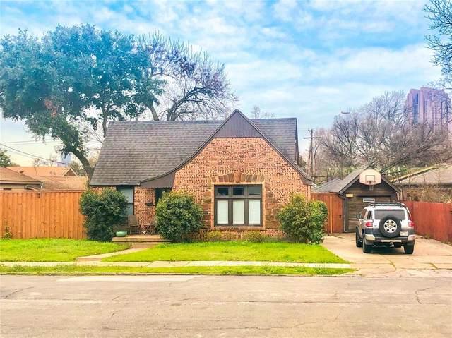 2419 Grigsby Avenue, Dallas, TX 75204 (MLS #14290481) :: The Mauelshagen Group