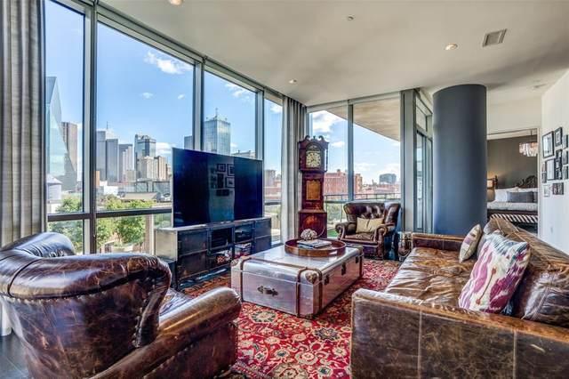 2200 Victory Avenue #602, Dallas, TX 75219 (MLS #14290768) :: North Texas Team | RE/MAX Lifestyle Property