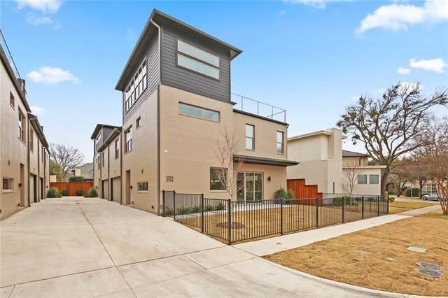 3710 W Beverly Drive, Dallas, TX 75209 (MLS #14290844) :: The Mauelshagen Group
