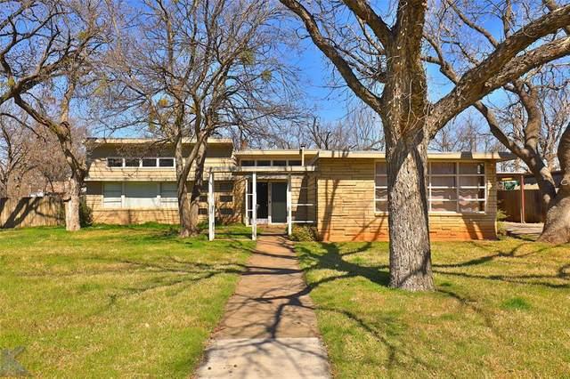 4074 Potomac Avenue, Abilene, TX 79605 (MLS #14290951) :: The Heyl Group at Keller Williams