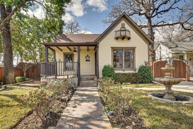 1409 N Houston Street, Fort Worth, TX 76164 (MLS #14291465) :: The Heyl Group at Keller Williams