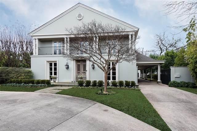 3117 Beverly Drive, Highland Park, TX 75205 (MLS #14293355) :: RE/MAX Landmark