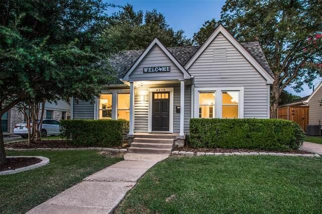 4210 Camden Avenue, Dallas, TX 75206 (MLS #14293856) :: Robbins Real Estate Group