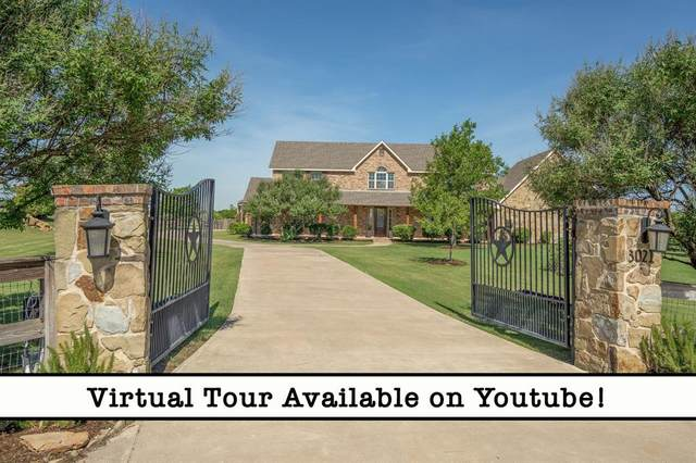 3021 Amyx Hill Road, Ponder, TX 76259 (MLS #14295151) :: The Kimberly Davis Group
