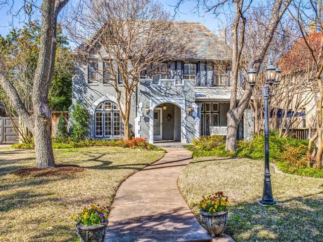 6635 Lakewood Boulevard, Dallas, TX 75214 (MLS #14296285) :: The Kimberly Davis Group