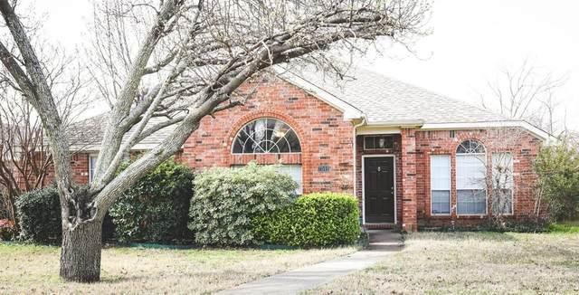 7511 David Drive, Frisco, TX 75034 (MLS #14296563) :: The Kimberly Davis Group