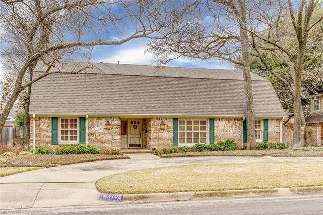 4109 Glenwood Drive, Fort Worth, TX 76109 (MLS #14296802) :: North Texas Team | RE/MAX Lifestyle Property