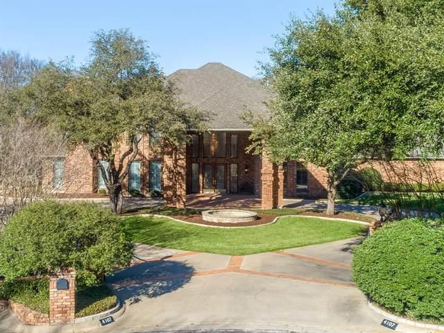 4107 Wood Creek Court, Colleyville, TX 76034 (MLS #14297261) :: The Tierny Jordan Network