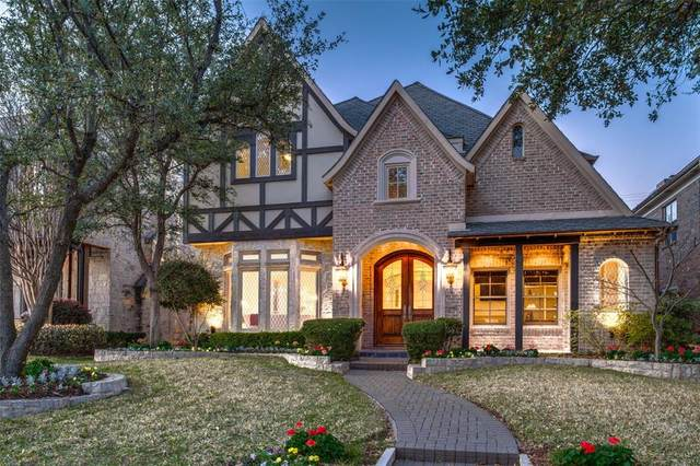 3202 Drexel Drive, Highland Park, TX 75205 (MLS #14298540) :: RE/MAX Landmark