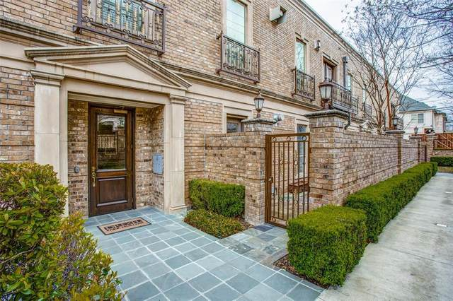6625 Bandera Avenue 1B, Dallas, TX 75225 (MLS #14298689) :: Front Real Estate Co.