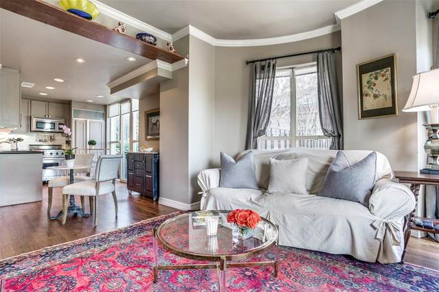 3401 Lee Parkway #307, Dallas, TX 75219 (MLS #14299439) :: The Mitchell Group