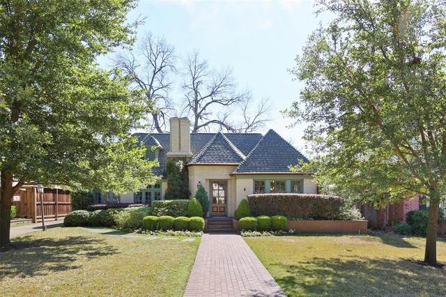 3301 Greenbrier Drive, University Park, TX 75225 (MLS #14299500) :: Robbins Real Estate Group