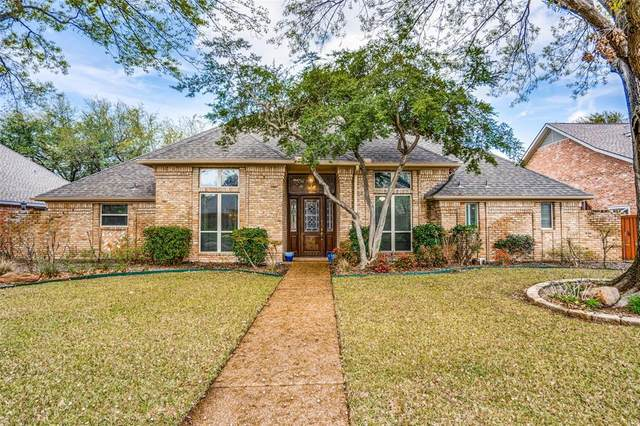 5813 Steeplechase Drive, Plano, TX 75093 (MLS #14299749) :: The Heyl Group at Keller Williams