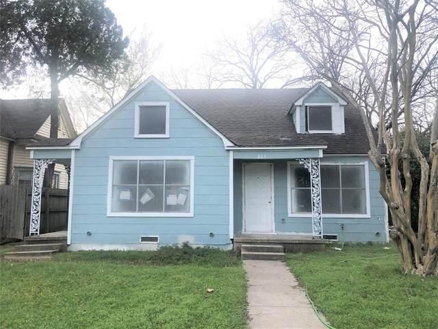 405 Brown Street, Waxahachie, TX 75165 (MLS #14300124) :: RE/MAX Landmark
