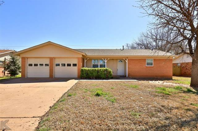 3109 Nonesuch Road, Abilene, TX 79606 (MLS #14300617) :: The Kimberly Davis Group